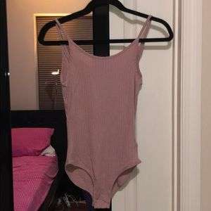Brand new with tags Nude Pink Bodysuit
